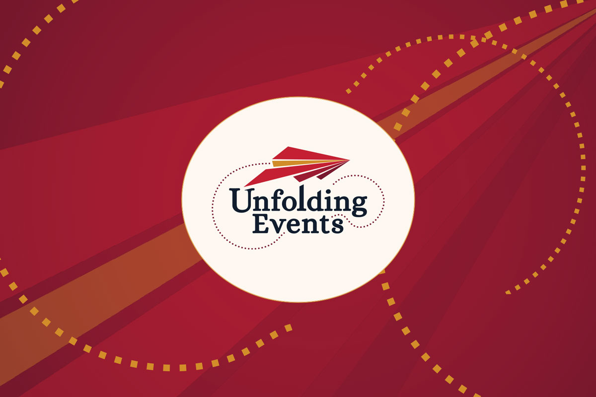 Unfolding Events logo
